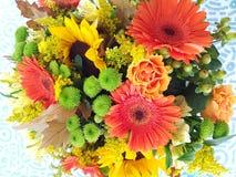 Λουλούδι φθινοπώρου bouquer στοκ εικόνες με δικαίωμα ελεύθερης χρήσης