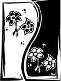 λουλούδι yang yin Στοκ φωτογραφίες με δικαίωμα ελεύθερης χρήσης