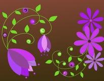 λουλούδια ανασκόπησης Στοκ Φωτογραφίες