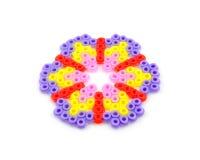 λουλούδι χαντρών τεχνών shap Στοκ εικόνα με δικαίωμα ελεύθερης χρήσης