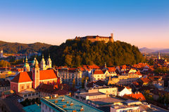 Λουμπλιάνα Σλοβενία Στοκ Φωτογραφίες