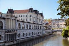Λουμπλιάνα, Σλοβενία Στοκ Φωτογραφία