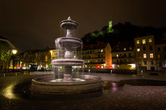 Λουμπλιάνα, Σλοβενία Στοκ Εικόνες