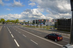 Λουξεμβούργια οδός Στοκ εικόνα με δικαίωμα ελεύθερης χρήσης