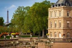 Λουξεμβούργιο παλάτι, Παρίσι Στοκ εικόνα με δικαίωμα ελεύθερης χρήσης