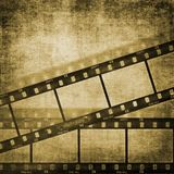 λουρίδα ταινιών επίδρασης ανασκοπήσεων grunge Στοκ Φωτογραφία