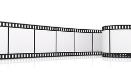 λουρίδα ταινιών 35mm απεικόνιση αποθεμάτων