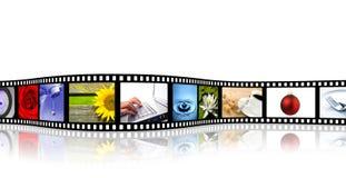 λουρίδα ταινιών Στοκ Εικόνα