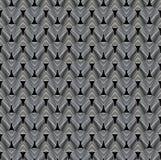 Λουρίδες ή καλώδιο φιαγμένες από μέταλλο, που λαμπυρίζει στο φως σκοτεινός τεχνικός ανασ&k διανυσματική απεικόνιση
