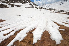 λουρίδες χιονιού Στοκ Εικόνα
