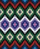 Λουρίδα-ζώνη μαλλιού με τα ζωηρόχρωμα σχέδια Στοκ Εικόνα