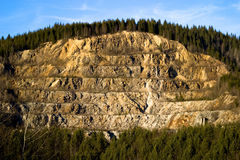 λουρίδα μεταλλείας βουνοπλαγιών Στοκ Φωτογραφίες