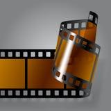 Λουρίδα ταινιών φωτογραφιών Στοκ εικόνες με δικαίωμα ελεύθερης χρήσης