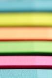 Λουρίδες των διάφορων χρωμάτων Στοκ Εικόνες