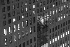 Λουρίδες των παραθύρων γραφείων Στοκ εικόνες με δικαίωμα ελεύθερης χρήσης