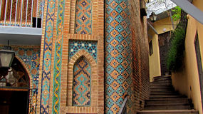 Λουτρά του Tbilisi Στοκ εικόνα με δικαίωμα ελεύθερης χρήσης