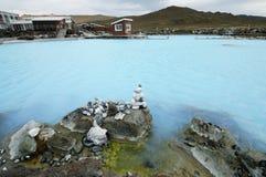 Λουτρά φύσης Myvatn στοκ φωτογραφίες