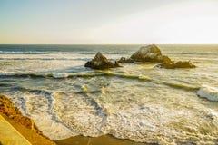 Λουτρά Sutro Ειρηνικών Ωκεανών στοκ φωτογραφία με δικαίωμα ελεύθερης χρήσης