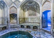 Λουτρό ακροπόλεων της Shiraz Στοκ Φωτογραφία