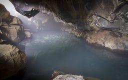 λουτρό Ισλανδία φυσική Στοκ εικόνες με δικαίωμα ελεύθερης χρήσης