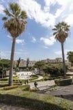 Λουτρό Κύκνος (πηγή) Giardino Bellini, Κατάνια, Σικελία Ιταλία Στοκ εικόνα με δικαίωμα ελεύθερης χρήσης