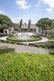 Λουτρό Κύκνος (πηγή) Giardino Bellini, Κατάνια, Σικελία Ιταλία Στοκ εικόνες με δικαίωμα ελεύθερης χρήσης
