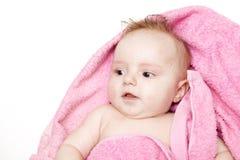 λουτρό μωρών λίγα Στοκ Εικόνες