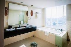 Λουτρό ξενοδοχείων Στοκ φωτογραφίες με δικαίωμα ελεύθερης χρήσης