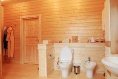 λουτρό ξύλινο Στοκ φωτογραφίες με δικαίωμα ελεύθερης χρήσης
