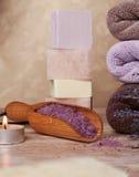 Λουτρό aromatherapy Στοκ εικόνες με δικαίωμα ελεύθερης χρήσης