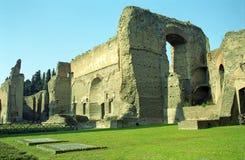 Λουτρό Caracalla, Ρώμη, Ιταλία Στοκ Εικόνα