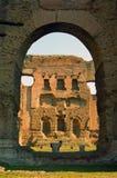 Λουτρό Caracalla, Ρώμη, Ιταλία Στοκ εικόνα με δικαίωμα ελεύθερης χρήσης
