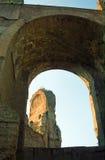 Λουτρό Caracalla, Ρώμη, Ιταλία Στοκ εικόνες με δικαίωμα ελεύθερης χρήσης