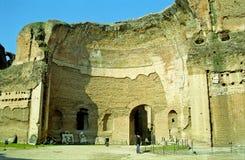 Λουτρό Caracalla, Ρώμη, Ιταλία Στοκ φωτογραφίες με δικαίωμα ελεύθερης χρήσης