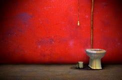 λουτρό grunge παλαιό Στοκ Φωτογραφίες