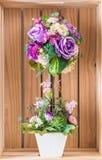 Λουλούδια ανθοδεσμών στο βάζο Στοκ Φωτογραφίες