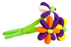 Λουλούδια από τα μπαλόνια Στοκ Εικόνες