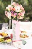 Λουλούδια γαμήλιων ντεκόρ στοκ εικόνες με δικαίωμα ελεύθερης χρήσης
