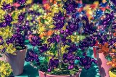 Λουλούδια γυαλιού Στοκ φωτογραφία με δικαίωμα ελεύθερης χρήσης