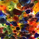 Λουλούδια γυαλιού Στοκ εικόνες με δικαίωμα ελεύθερης χρήσης