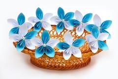 Λουλούδια εγγράφου Στοκ εικόνα με δικαίωμα ελεύθερης χρήσης