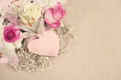 Λουλούδια ημέρας βαλεντίνων Στοκ εικόνες με δικαίωμα ελεύθερης χρήσης