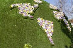 Λουλούδια και παιδιά της Τουρκίας EXPO Antalya Στοκ Εικόνα