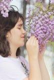 Λουλούδια μυρωδιάς Στοκ εικόνα με δικαίωμα ελεύθερης χρήσης