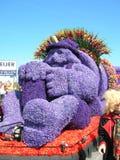 Λουλούδια παρελάσεων Στοκ εικόνες με δικαίωμα ελεύθερης χρήσης