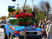 Λουλούδια παρελάσεων Στοκ φωτογραφίες με δικαίωμα ελεύθερης χρήσης