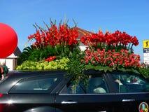 Λουλούδια παρελάσεων Στοκ φωτογραφία με δικαίωμα ελεύθερης χρήσης