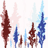 Λουλούδια σε ένα ρόδινο background Στοκ φωτογραφία με δικαίωμα ελεύθερης χρήσης