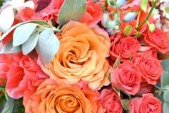 Λουλούδια στην ανθοδέσμη Στοκ Εικόνες