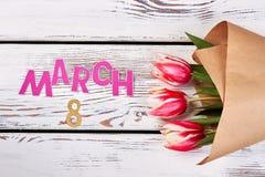 Λουλούδια την 8η Μαρτίου Στοκ Φωτογραφία
